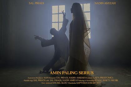 Lirik Lagu Amin Paling Serius - Sal Priadi ft Nadin Amizah