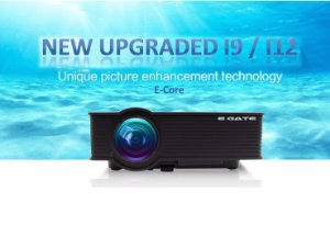 7bb22a15904ca3 Egate i9 LED LCD projector boast s of native HD screen resolution of 800 x  480 and support up to 1920 x1080. With more than 16k colors and 1000 :1  contrast ...