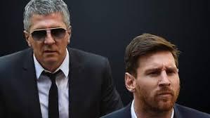 """Se reúnen en Barcelona, el padre y agente de Lionel Messi """"la Pulga"""""""