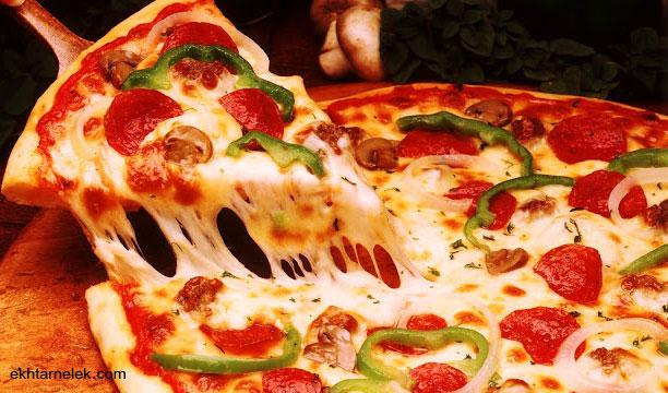 طريقة عمل بيتزا المقلاة و بدون فرن