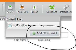 Pengaturan notifikasi email