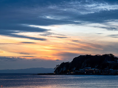 Sunset: Yuigahama-beach