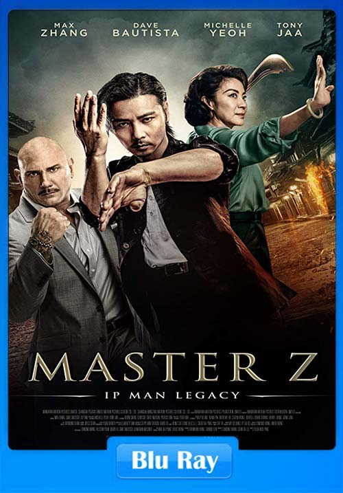 Master Z Ip Man Legacy 2018 720p BluRay Hindi Teluge Tamil x264 | 480p 300MB | 100MB HEVC
