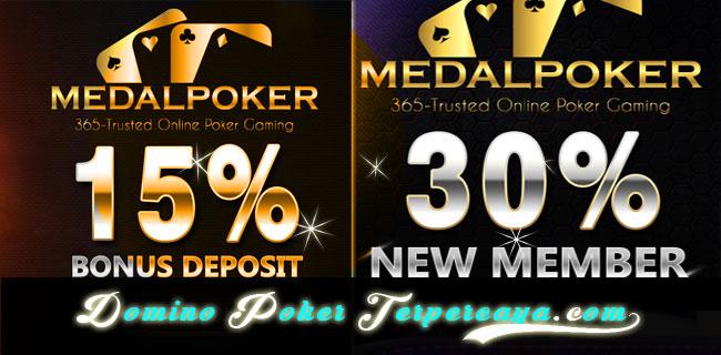 Medalpoker - Bonus Poker Idn 100.000 New Member - freebet