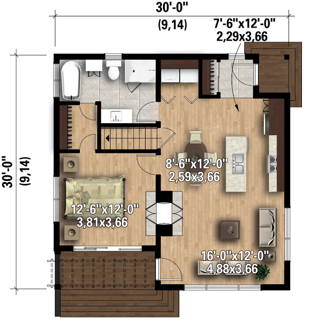 74+ Ide Desain Rumah Minimalis Ala Amerika Terbaik Yang Bisa Anda Tiru