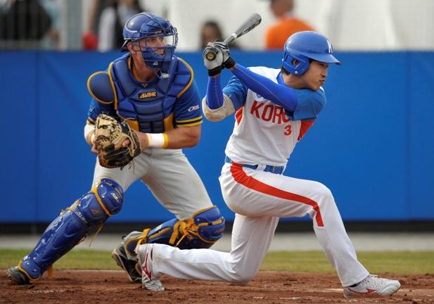 korea south sports baseball korean