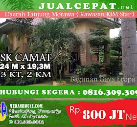Di JualCEPAT.NET Rumah Konsep Mewah Daerah Tj Morawa Kim Star <del>Rp 850.000.000,-</del> <price>Rp 800.000.000,-</price> <code>MH-HOTINDAH1</code>