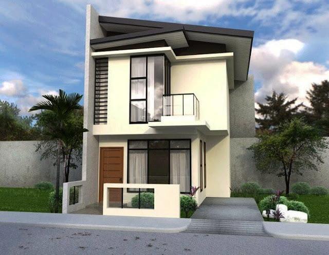 rumah tingkat minimalis sederhana