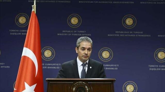 Turquía amenaza con responder 'ojo por ojo' sanciones de EEUU