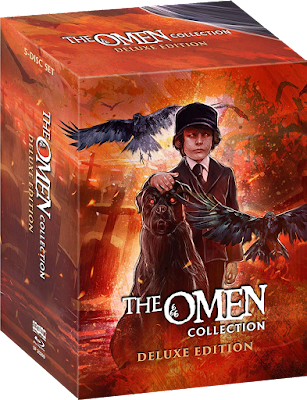 Scream Factory's THE OMEN COLLECTION: DELUXE EDITION Blu-ray set!