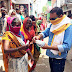 श्रीनिवास बालिका इण्टर कालेज परिवार ने बांटा मास्क#
