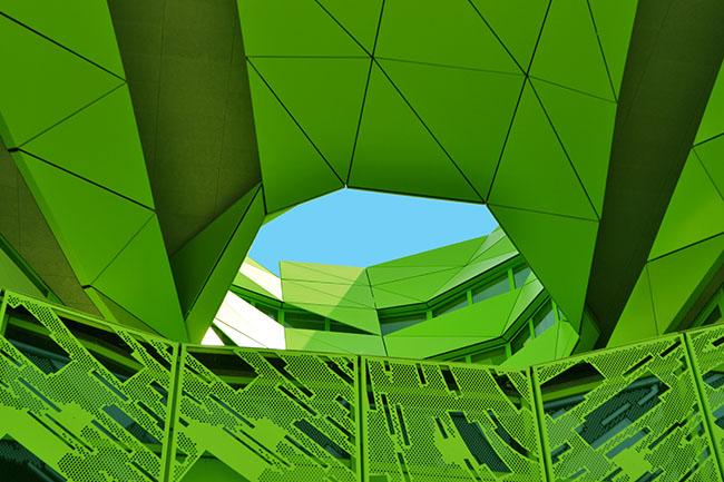 Cubo Verde alla Confluence di Lione