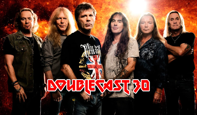 Doublecast podcast 30 especial Iron Maiden, Eddie the Head, Bruce Dickinson, Steve Harris, Dave Murray, Janick Gears, Adrian Smith, Nicko McBrain, Killers, The Number of the Beast, Piece of Mind, Powerslave, Somewhere in Time, No Prayer for the Dying, Fear of The Dark, The X Factor, Virtual XI, Brave New World, Dance of Death, A Matter of Life and Death, Final Frontier, The Book of Souls, Live After Death, Rock in Rio, En Vivo, Flight 666