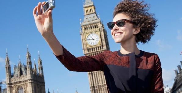 Viajes a Londres, selfie