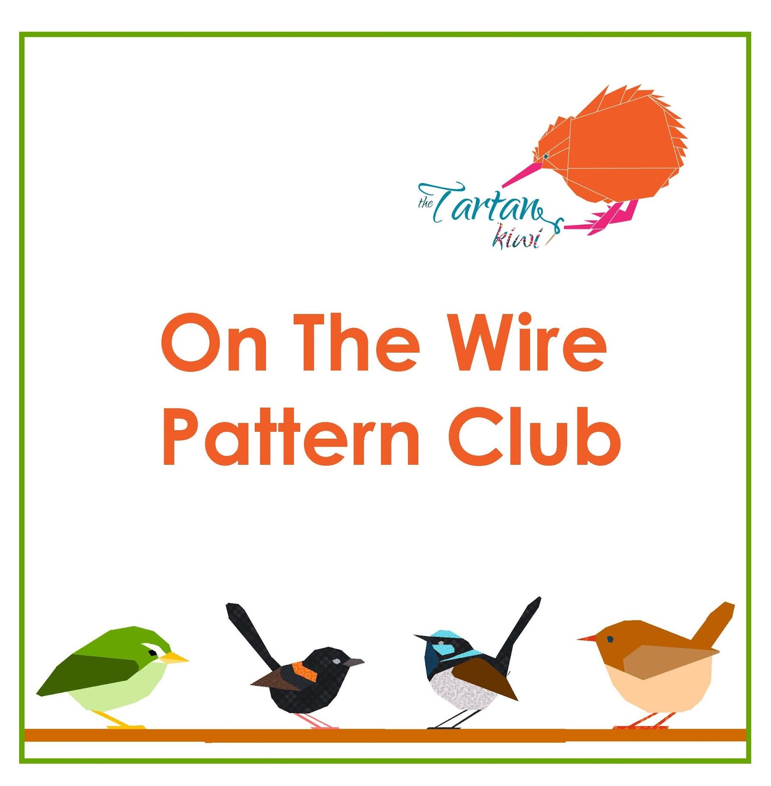 The tartankiwi announcing the on the wire pattern club jeuxipadfo Gallery