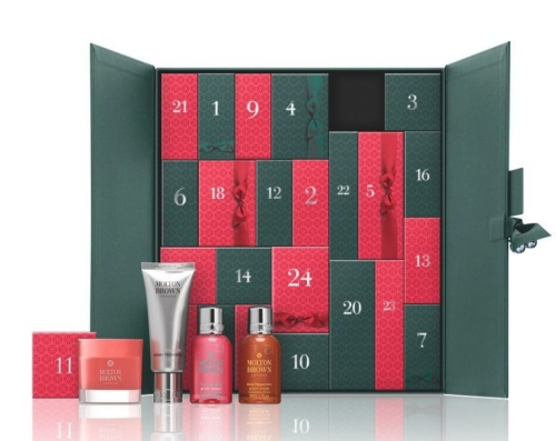 Molton brown beauty Advent calendar 2016 calendrier de l'avent