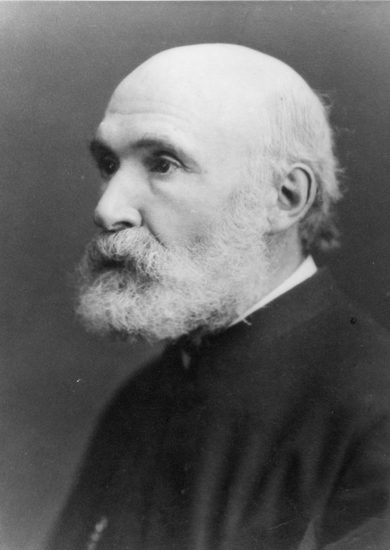 Photograph of The Rev A S Latter, vicar 1864-1880 Image from the Images of North Mymms collection
