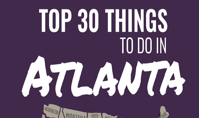 Top 30 Things to Do in Atlanta #infographic