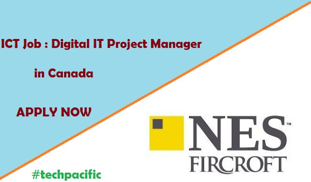 ICT Job : Digital IT Project Manager in Canada