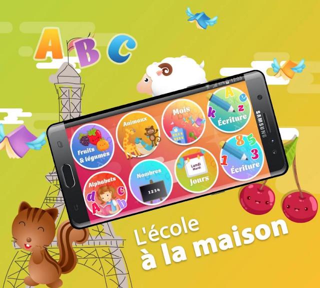 Application pour Apprendre le Français - Alphabet français Android