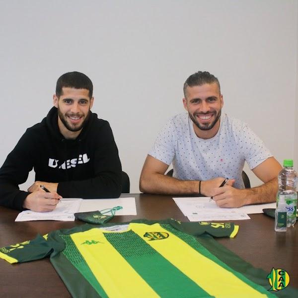 Oficial: Aldosivi, firman Emanuel Insúa y Emiliano Insúa