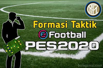 Formasi Terbaik Inter Milan di PES 2020