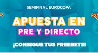 Mondobets promo semifinales euro2020