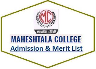 Maheshtala College Merit List