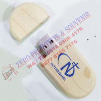 Flashdisk kayu Oval - FDWD02