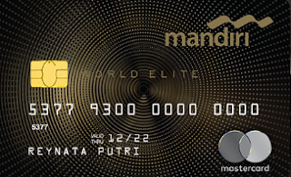 Mandiri Mastercard  World Elite