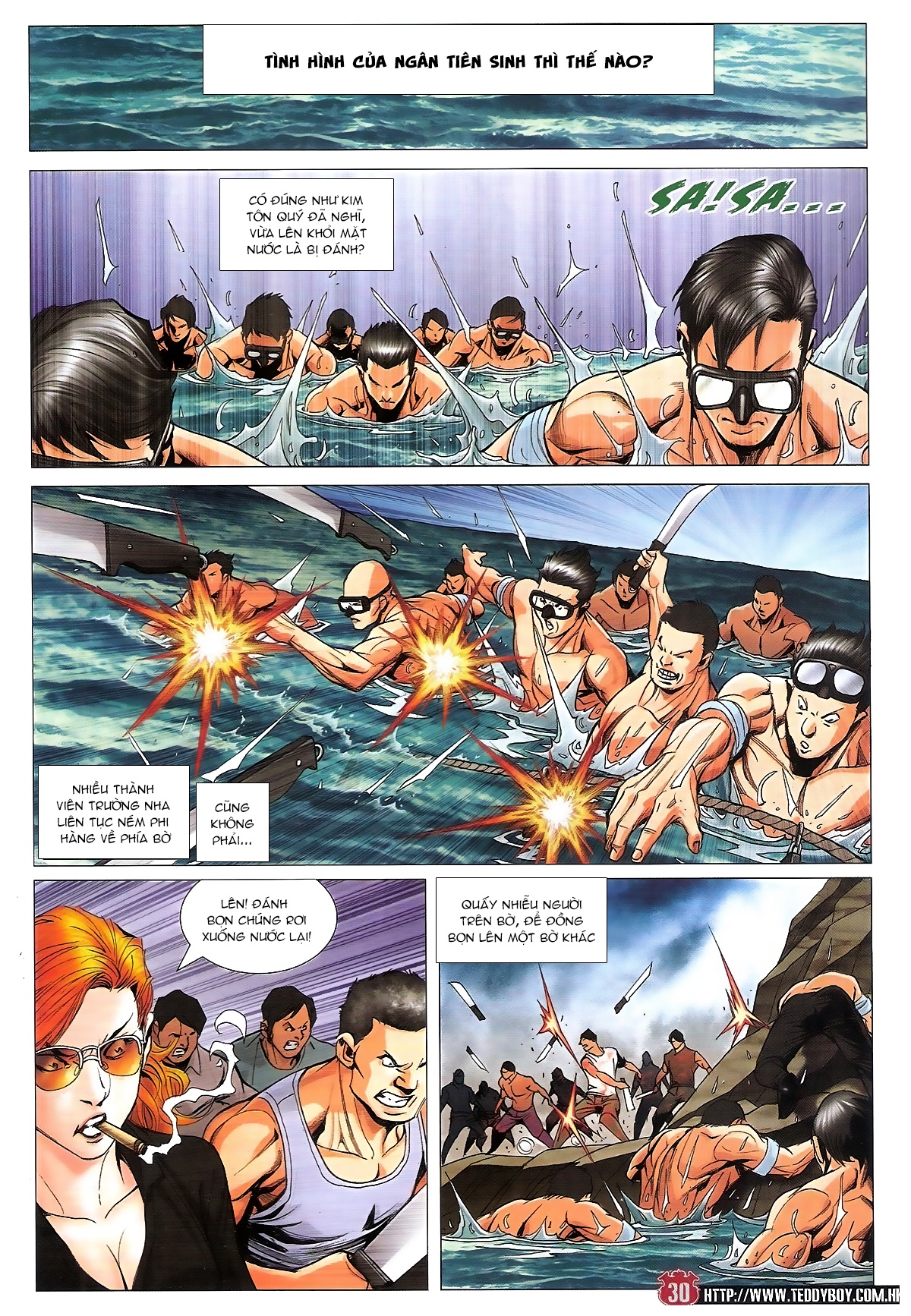 Người Trong Giang Hồ chapter 1840: đại phi ác chiến kim tôn quý trang 28