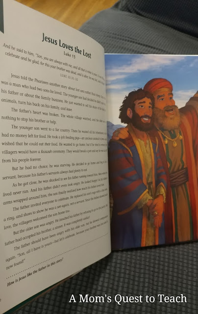 pages from The Easter Storybook