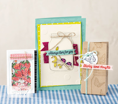 Stampin' Up! UK Independent  Demonstrator Susan Simpson, Craftyduckydoodah!, Annual Catalogue 2017 - 2018, Sharing Sweet Thoughts, Supplies available 24/7 from my online store,