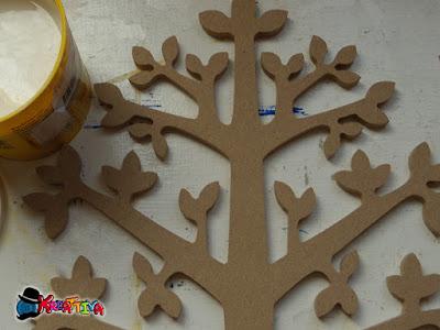 albero in mdf