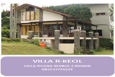 Villa lembang minimalis dengan halaman
