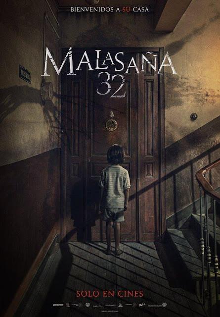 Poster oficial de 'Malasaña 32' la nueva película de terror de Albert Pinó