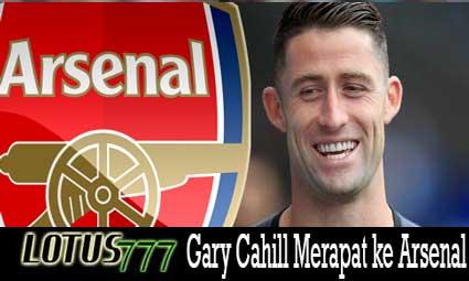 Gary Cahill Merapat ke Arsenal