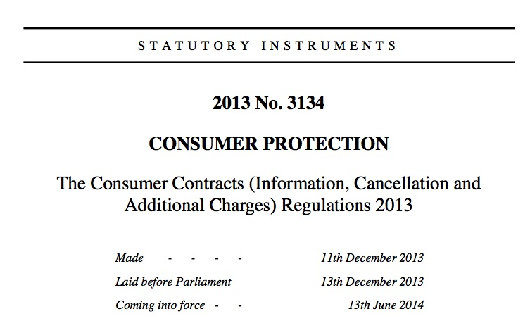Consumer Contracts Regulations >> Jim S Loire First Anniversary Of The Consumer Contract