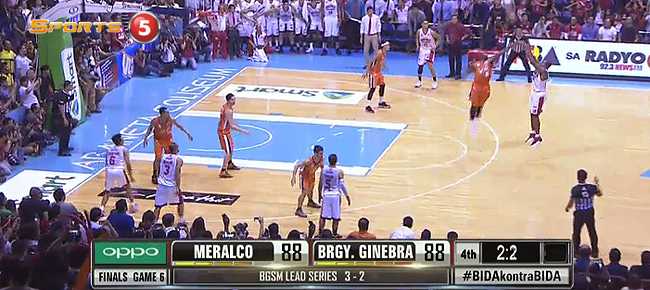 Justin Brownlee's EPIC Title-Winning Buzzer Beater vs Meralco in Game 6 (VIDEO)