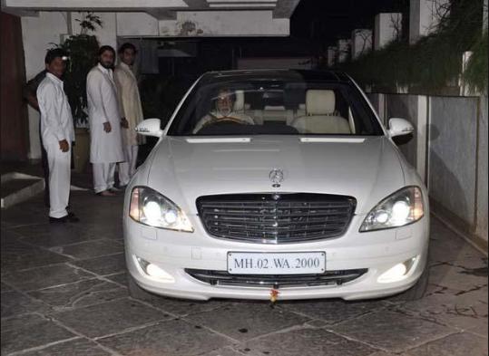 Amitabh Bachchan Cars - Mercedes Benz GL SUV
