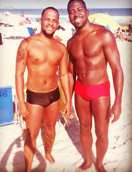 casal gay de negros