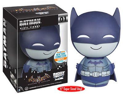 "New York Comic Con 2015 Exclusive Batman Arkham Asylum ""Detective Mode"" Batman Dorbz XL 6"" Vinyl Figure by Funko"
