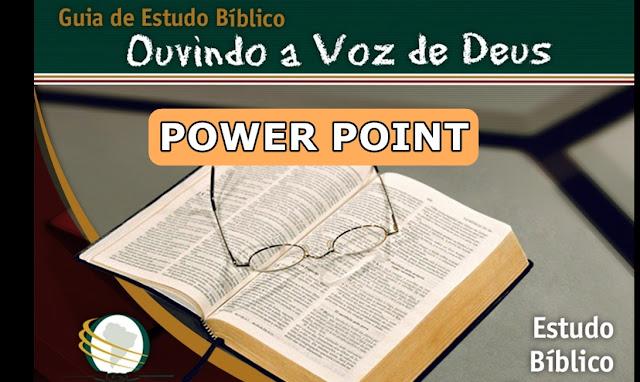 ouvindo a voz de deus power point