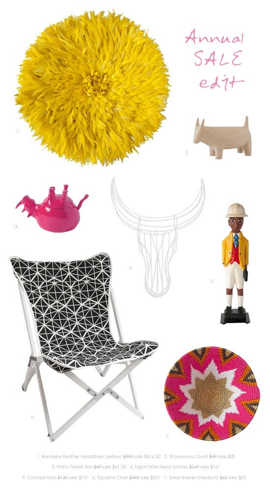 Safari Fusion blog >< [In store] Annual SALE! edit | Save up to 50% off selected art, crafts + homewares at Safari Fusion ends Sunday