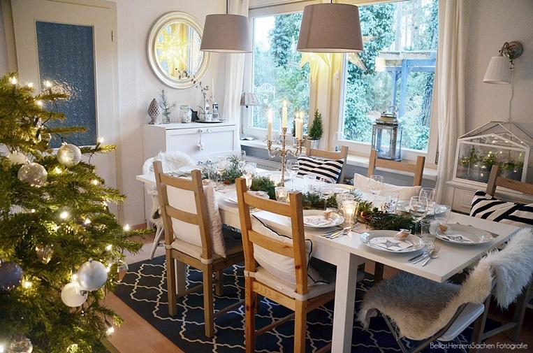 Esszimmer Weihnachten