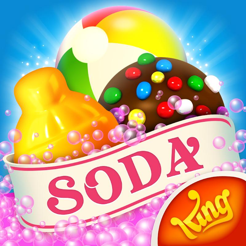 Candy Crush Soda Saga v1.178.2 Apk Mod [Vidas Infinitas + Boosters]