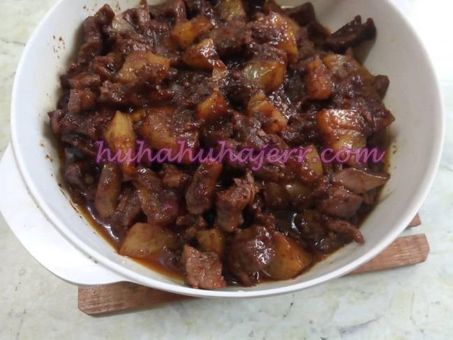 Resepi Daging Kicap Blackpepper Dengan Kentang Berselera Makan...