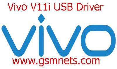 Vivo V11i USB Driver Download