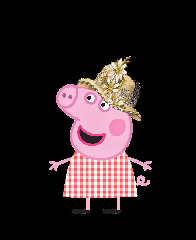 Kit Aniversario Peppa Pig Na Fazenda Para Imprimir Convites