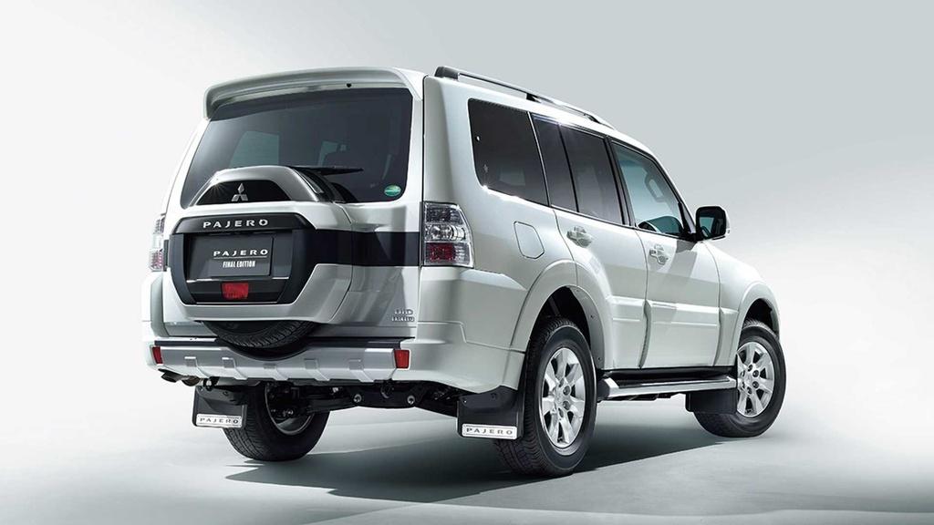 Mitsubishi khai tử Pajero – sự ra đi của một huyền thoại